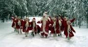 Группа Дедов Морозов в честь Нового Года окунется в Енисей